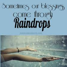 Raindrops and Blessings